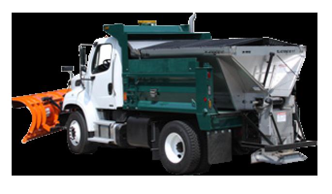 E2020XT Dump Truck Salt Spreader