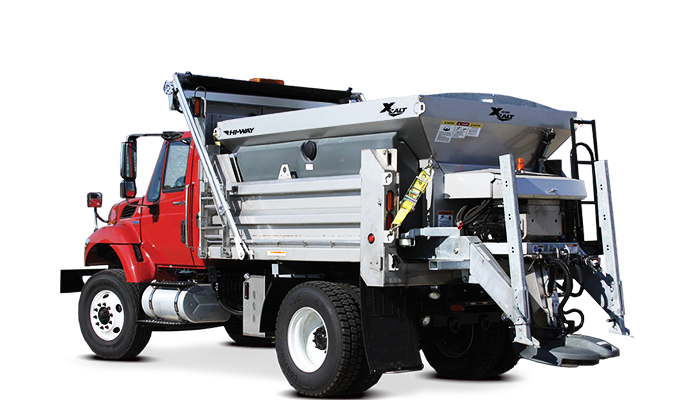 Dump Truck Salt Spreader