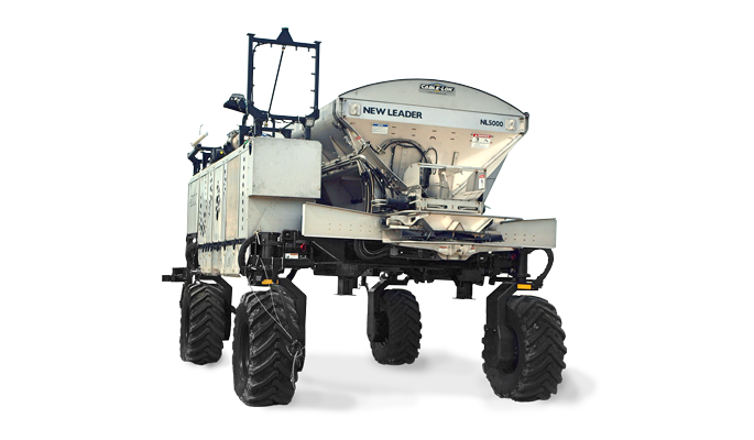 New Leader Automatic Fertilizer Spreader