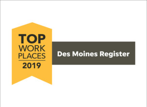 NLM Awarded as a Top Workplace in Iowa