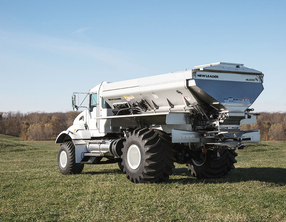 New Leader Commercial Fertilizer Spreader