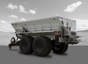 Apply Compost, Fertilizer, BioSul with the NL600 Pull-Type Spreader